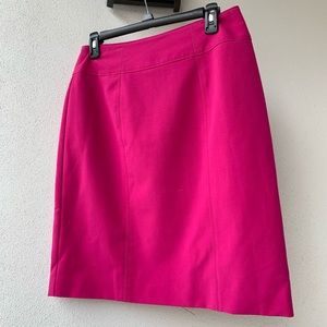 Fushia pink work skirt 💗